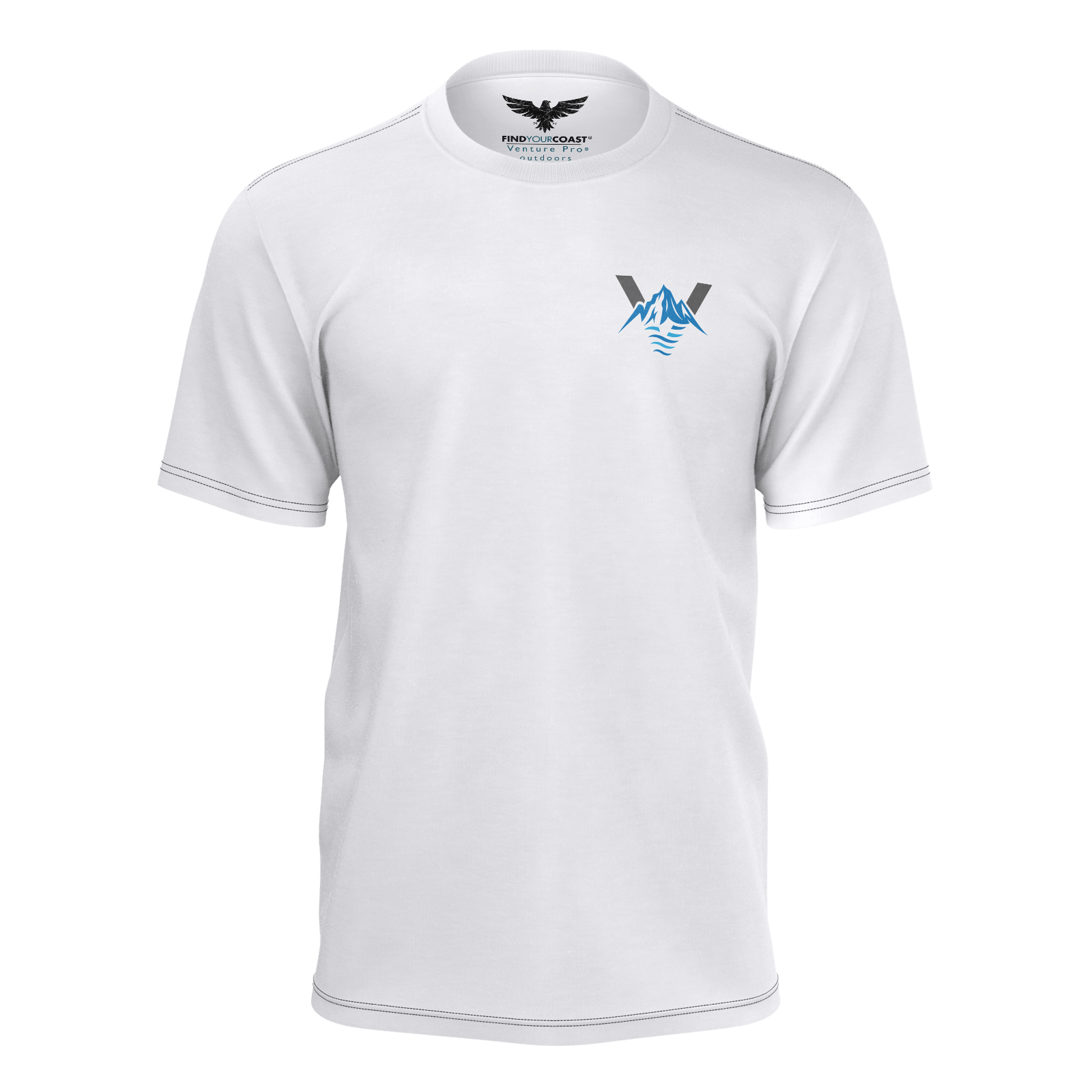 Men's FYC Our Outdoors Venture Pro Sustainable Short Sleeve Tee Shirt - Find Your Coast Supply Co.
