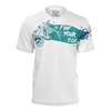 Men's Supply Co. Skull Fish White Recycled Knit Tee Shirt - Find Your Coast Supply Co.