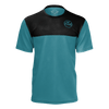 Men's FYC Supply Co. Sustainable Short Sleeve Limited Edition Teal Find Tee Shirt - Find Your Coast Supply Co.