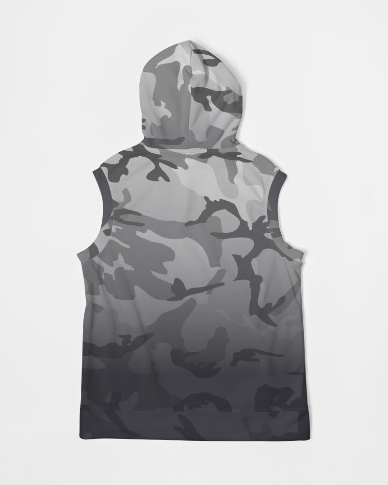 Men's Heavyweight Live Free Camo Sleeveless Hoodie
