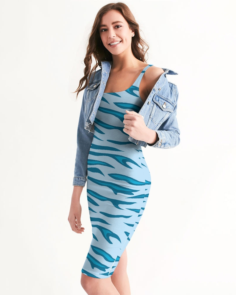 Women's Energizer Casual and Fun Midi Bodycon Dress - Find Your Coast Supply Co.