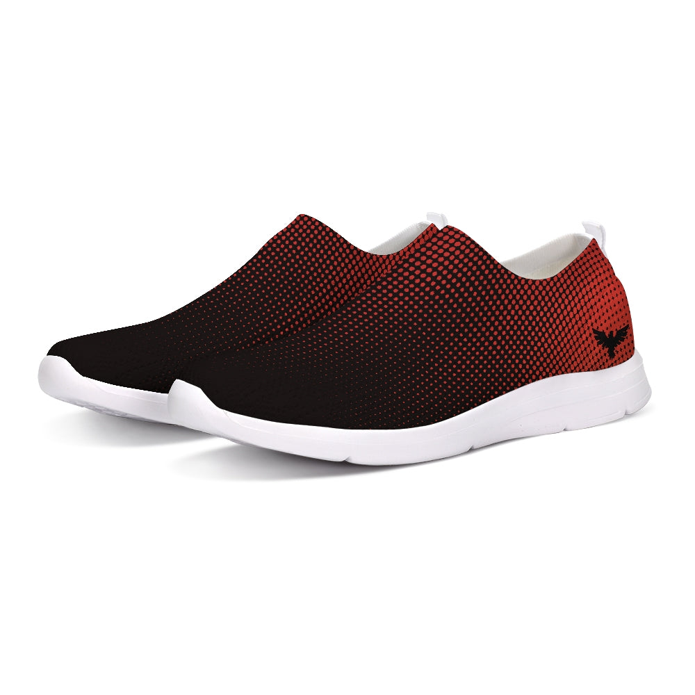 FYC Athletic Lightweight Dk. Red Hyper Drive Flyknit Slip-On Shoes - Find Your Coast Supply Co.