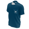 Men's Seduced By The Seas II Navy Sustainable Pocket Tee Shirt