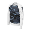 Men's Supply Co. Coast Camo White Sleeved Sustainable Raglan Sweatshirt - Find Your Coast Supply Co.