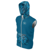Men's Supply Co. Blue Ocean Camo Sustainable Lake Tahoe Sleeveless Hoodie - Find Your Coast Supply Co.