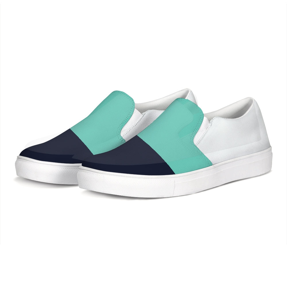 FYC Color Block Canvas Slip-On Casual Shoes (men's and women's sizing)