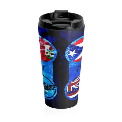 Destinations Stainless Steel Travel Mug - Find Your Coast Apparel