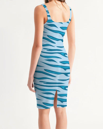 Women's Energizer Casual and Fun Midi Bodycon Dress