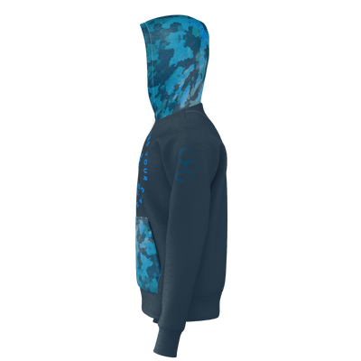 Men's Find Your Coast Adventure Supply Camo Sustainable Pullover Hoodie - Find Your Coast Supply Co.