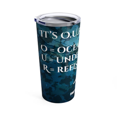 Find Your Coast It's O.U.R. Outdoors 20 oz. Stainless Steel Travel Tumbler - Find Your Coast Supply Co.