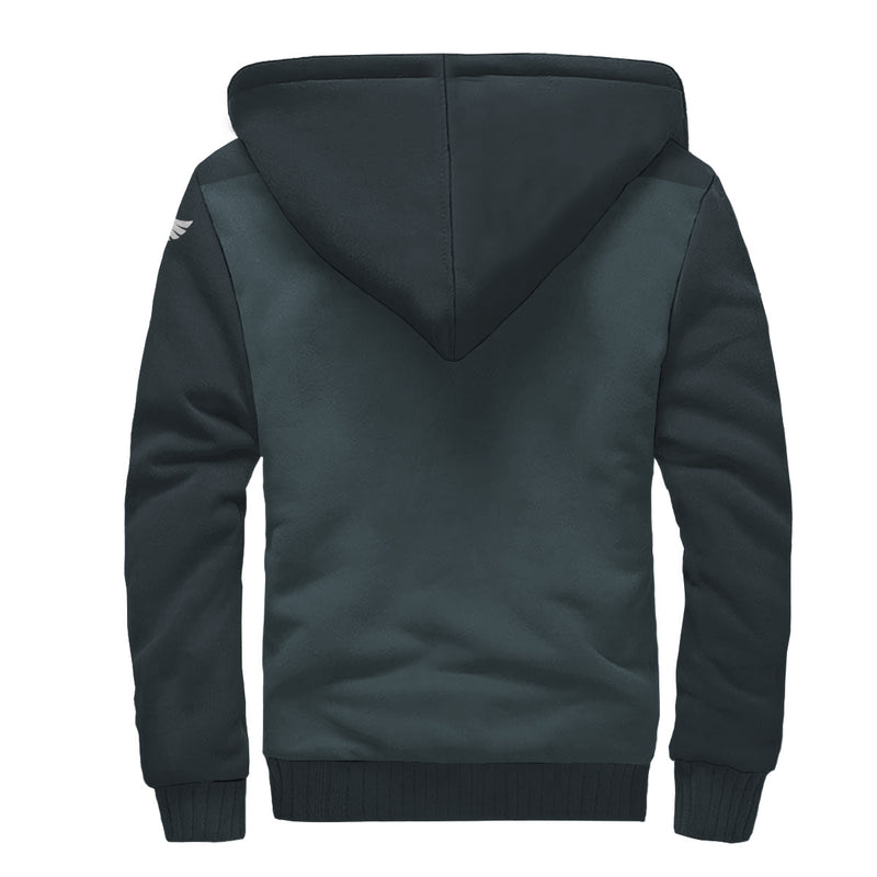 Find Your Coast Colorblock Sherpa Lined Zip Up Hoodie (Pre-Order)