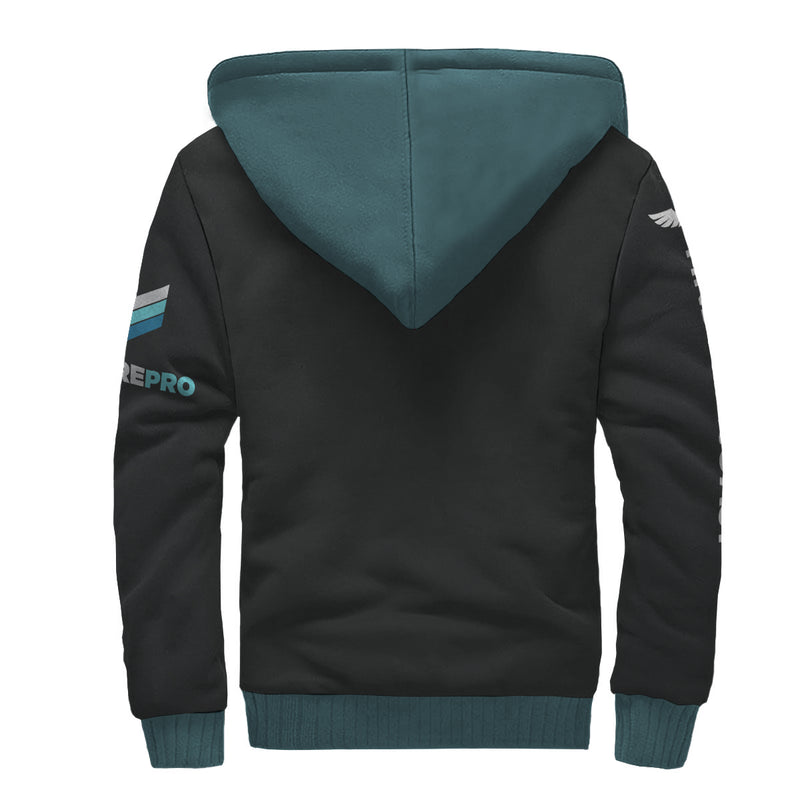 Find Your Coast Venture Pro Sherpa Lined Zip Up Hoodie (Pre-Order)