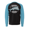 Men's Life Is Better Offshore Sustainable Raglan Crewneck - Find Your Coast Supply Co.