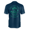 Men's Supply Co. Island Lifestyle Navy Recycled rPET Knit Tee Shirt - Find Your Coast Supply Co.