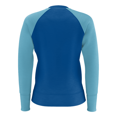 Women's Find Your Coast Twin Palms Lightweight Raglan Sweatshirt - Find Your Coast Supply Co.