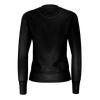 Women's Summer Eclipse Black Long Sleeve Sustainable Sweatshirt - Find Your Coast Supply Co.