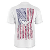 Men's USA Supply Co. SURF SUN SAND Recycled White Knit Tee Shirt
