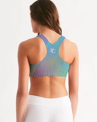 Women's Active Comfort Navagio Sport Seamless Sports Bra - Find Your Coast Supply Co.