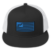 Find Your Coast Allegiance Flag Vintage Trucker Hat (CABANA SALE)
