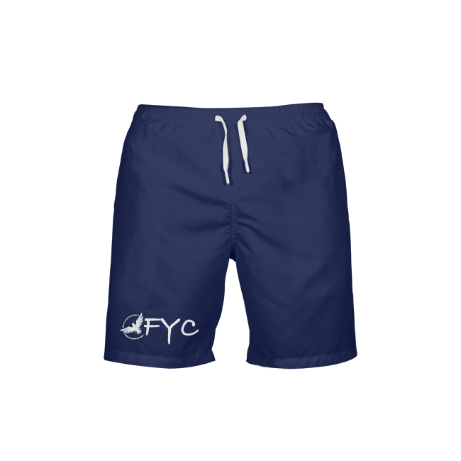 Men's Find Your Coast Royal Blue Beach Shorts UPF 40+ w/Lining