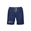 Men's Find Your Coast Royal Blue Beach Shorts UPF 40+ w/Lining - Find Your Coast Brand
