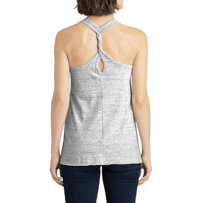 Women's Cosmic Twist Back Tank Top - Find Your Coast Apparel