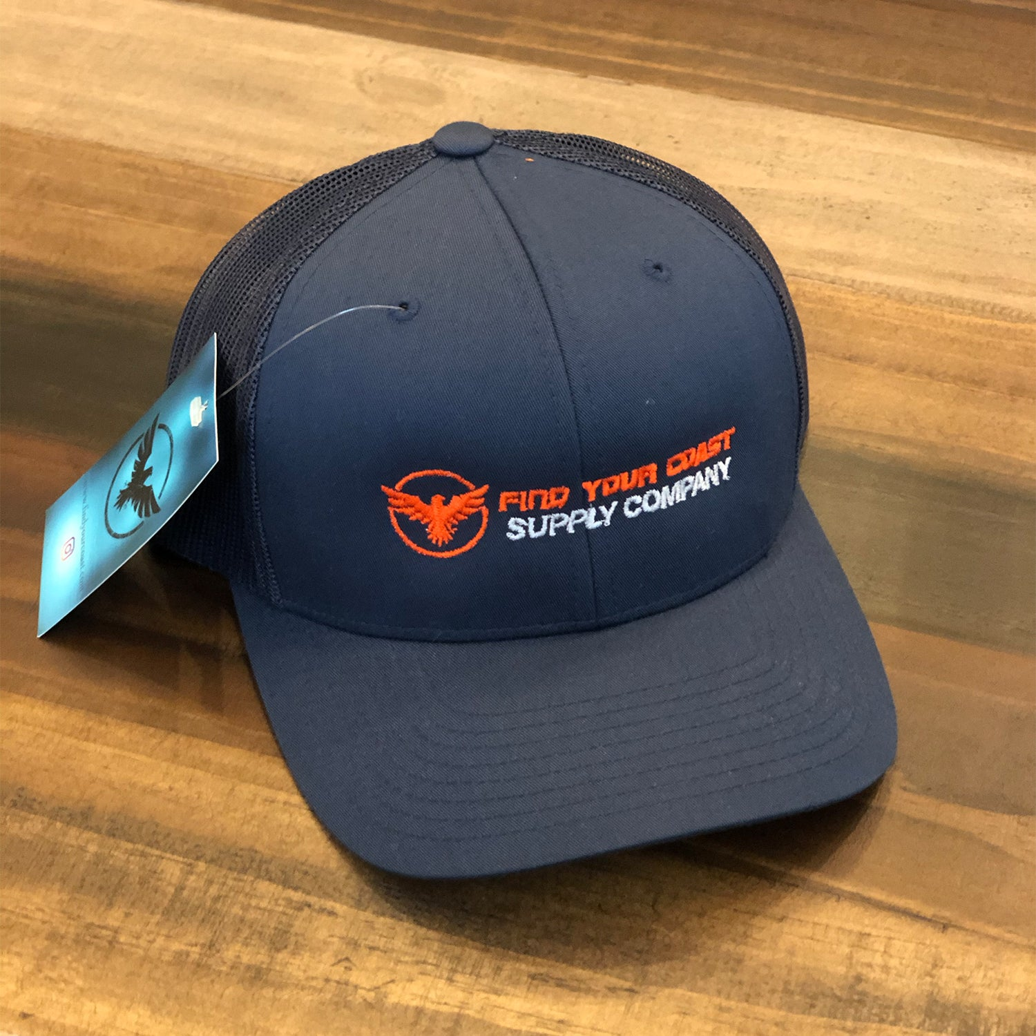 Find Your Coast Supply Company Mid-Profile Trucker Hat (CABANA SALE)