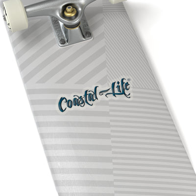 FYC's Coastal Life Kiss-Cut Stickers w/Transparent Background - Find Your Coast Brand