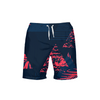 Men's Find Your Coast Navy Victory II Beach Shorts UPF 40+ w/Lining