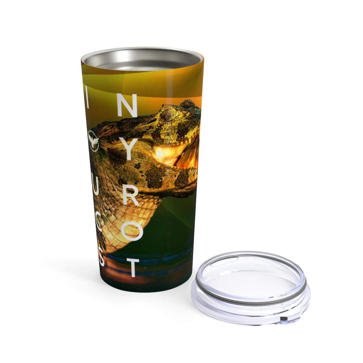 FYC Life Stainless Steel Baby Croc 20 oz Tumbler - Find Your Coast Supply Co.