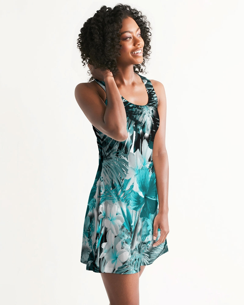 Women's FYC My Sundays Flirty and Fun Casual Racerback Dress - Find Your Coast Supply Co.