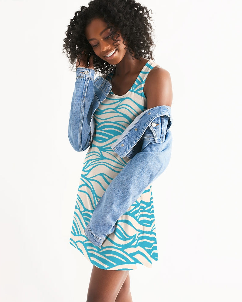 Women's Wave Places Casual Racerback Dress - Find Your Coast Supply Co.