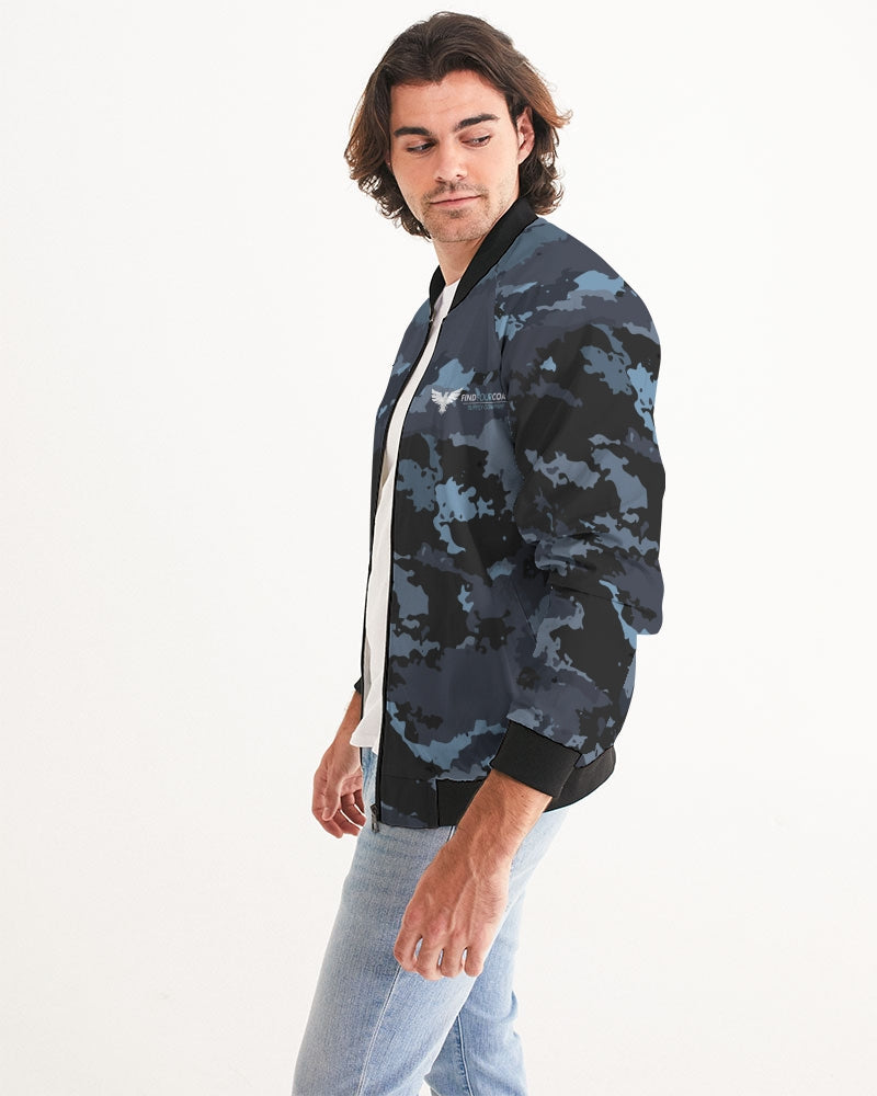 Men's Coast Camo Bomber Jacket - Find Your Coast Supply Co.
