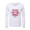 Women's Cotton Club It's Salty When We Kiss Long Sleeve Sweatshirt - Find Your Coast Supply Co.