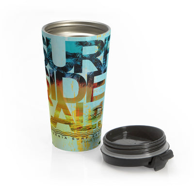 Surf Session Stainless Steel Travel Mug - Find Your Coast Apparel