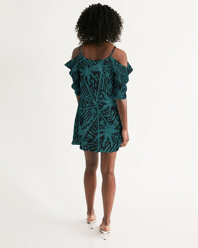 Women's Palm Caye II Open Shoulder A-Line Dress - Find Your Coast Supply Co.