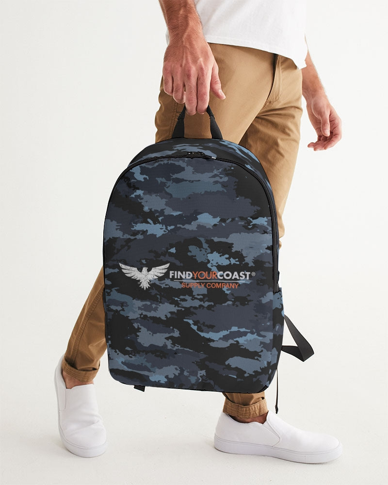 Find Your Coast Waterproof 'Coast Camo' Large Backpack - Find Your Coast Supply Co.