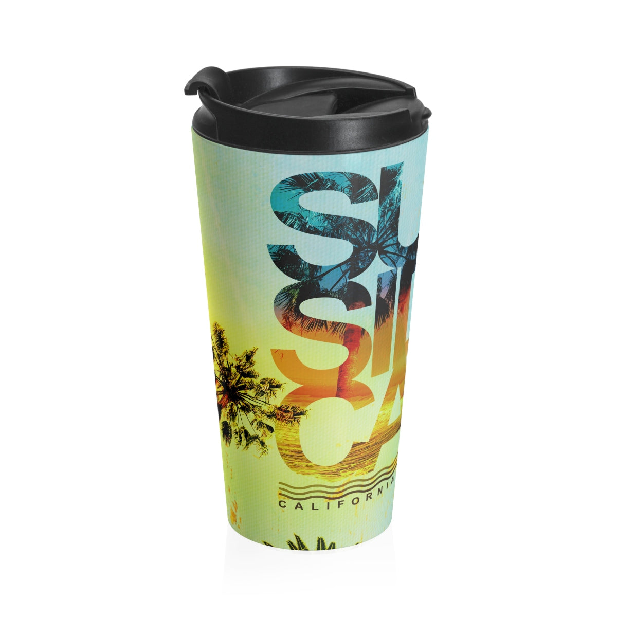 Surf Session Stainless Steel Travel Mug - Find Your Coast Supply Co.