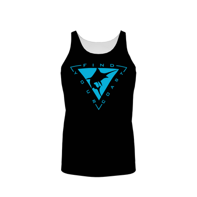 Men's Blue Coast Fishing Active Tank Top - Find Your Coast Supply Co.