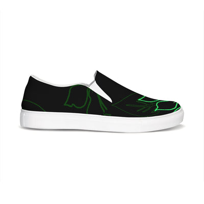 FYC Black Gaffe Canvas Slip-On Boat Shoes - Find Your Coast Supply Co.