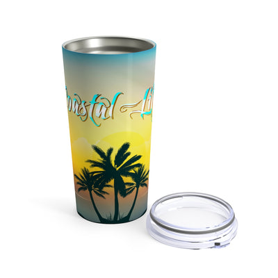 Limited Edition Coastal Life 20 oz Stainless Steel Tumbler - Find Your Coast Supply Co.