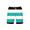 Men's FYC Paradise Stripe Beach Shorts UPF 40+ w/Lining - Find Your Coast Supply Co.