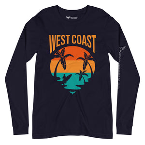 Men's Supply Co West Coast Soft Versatile Long Sleeve Tee