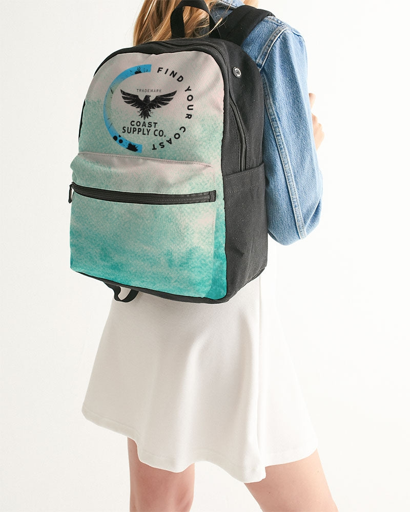 Find Your Coast Island Inlet Small Canvas Backpack - Find Your Coast Supply Co.