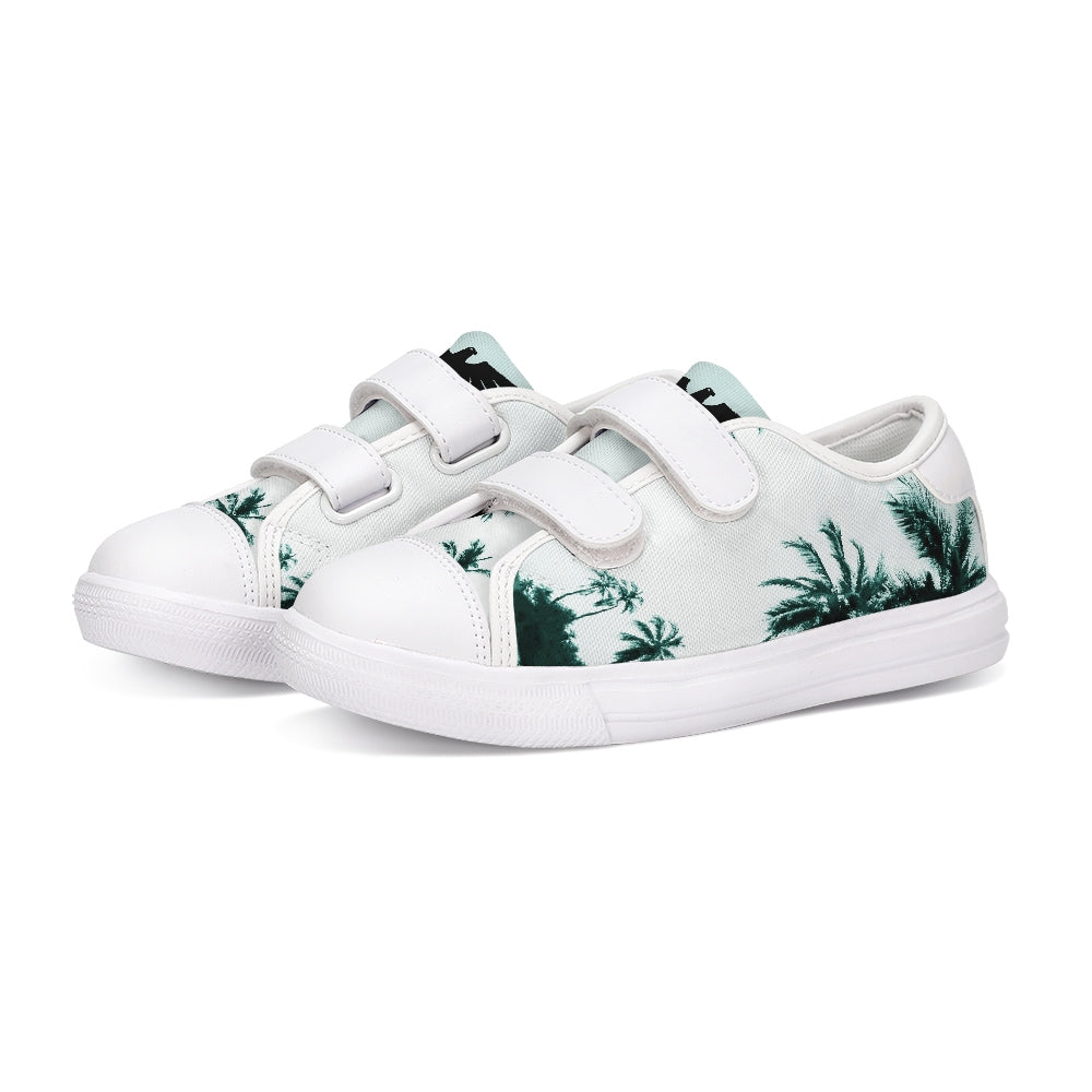 FYC Kids Canvas Velcro Sneaker Shoes - Find Your Coast Brand