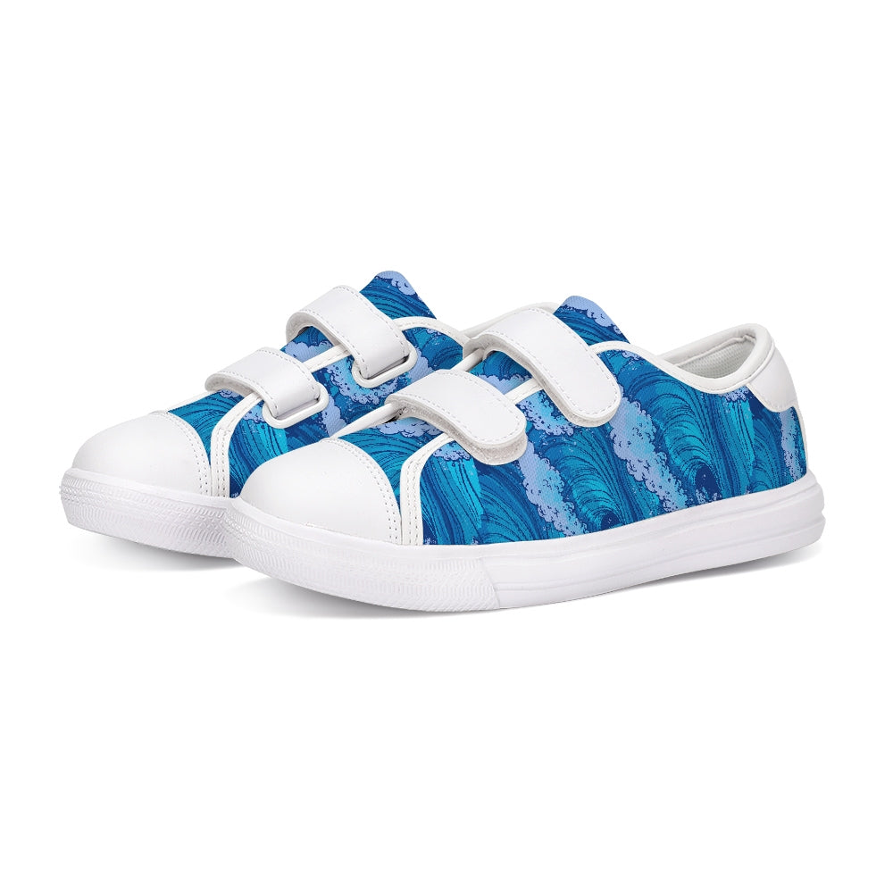 Find Your Coast Kids Tidal Wave Velcro Shoes - Find Your Coast Brand