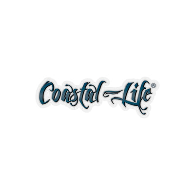 FYC's Coastal Life Kiss-Cut Durable Stickers w/Transparent Background - Find Your Coast Supply Co.