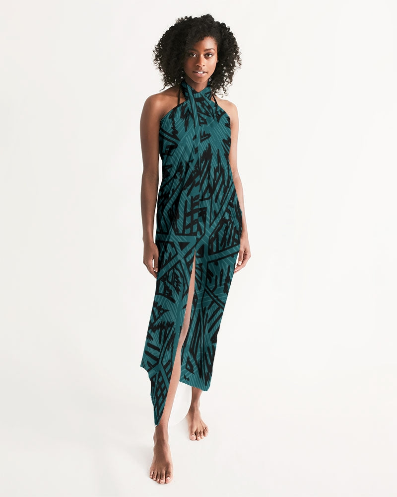 Women's Find Your Coast Lightweight & Elegant Palm Caye II Swim Cover Up - Find Your Coast Supply Co.