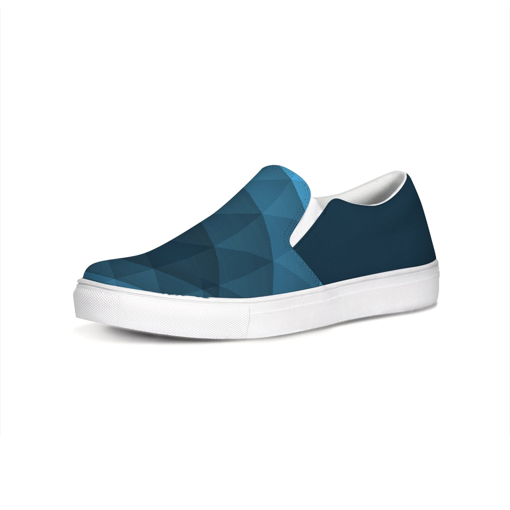 FYC Blue Venturer Canvas Slip-On Casual Shoes - Find Your Coast Supply Co.