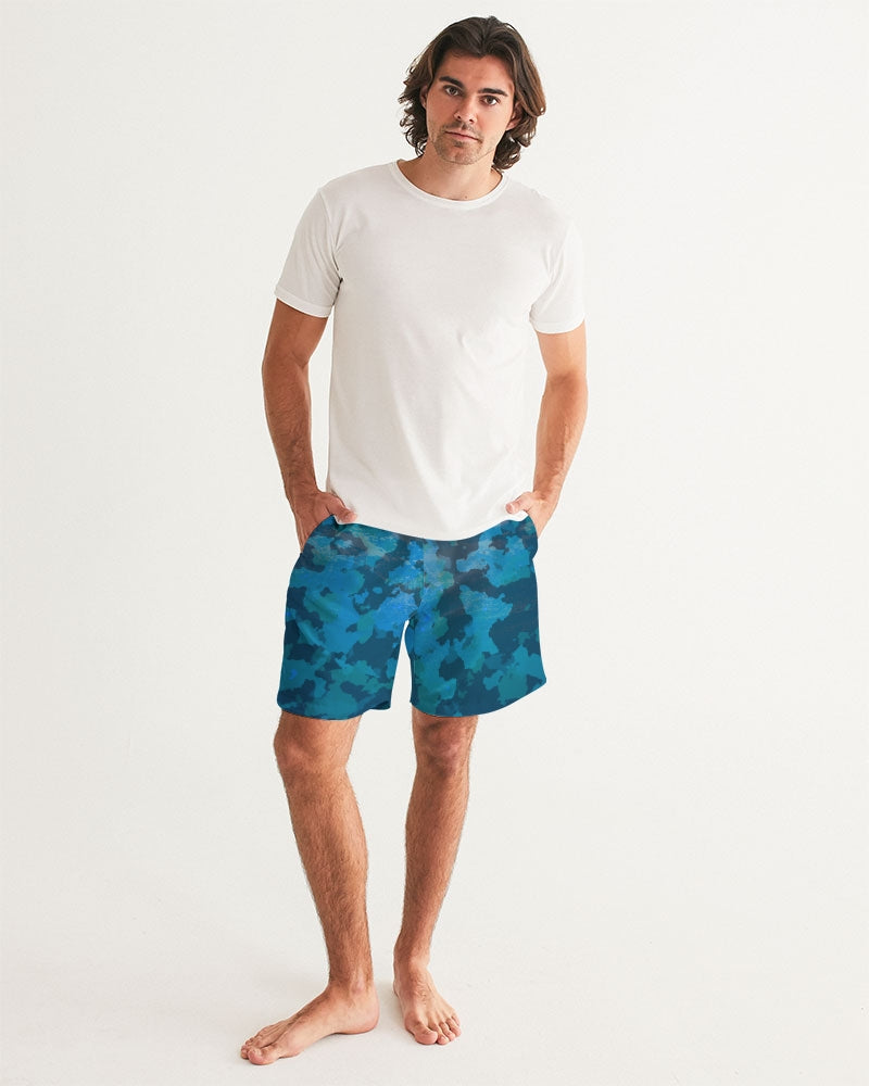 Men's FYC Ocean Camo Swim Shorts UPF 40 w/Lining - Find Your Coast Supply Co.